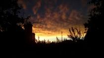 Dramatični zalazak sunca u Kuli, pogled ka silosu by Alen13ASC